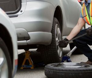 Roadside Assistance - Tire Change